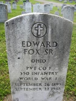 Pvt Edward C. Fox, Sr