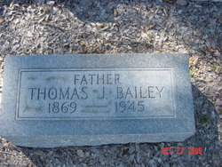 Thomas J Bailey