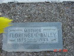 Florence E <I>Snowden</I> Bailey