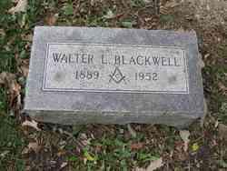 Walter L Blackwell