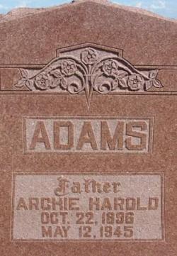 Archie Harold Adams