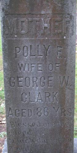 "Pauline Emeline ""Polly"" <I>Dennis</I> Clark"