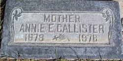 Annie May <I>Elison</I> Callister