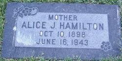 Alice Jane Hamilton