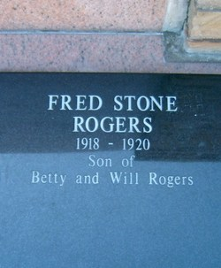 Fred Stone Rogers