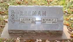 Beverly J Freeman