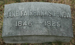 Jane A. <I>Fairbanks</I> Fonda