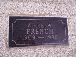 Addie Winona <I>Cox</I> French