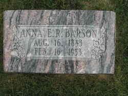 Anna Elizabeth <I>Rasmussen</I> Barson