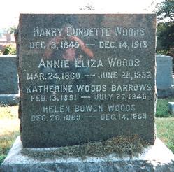 "Katherine Burdette ""Katie"" <I>Woods</I> Barrows"