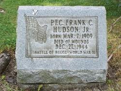 PFC Frank C. Hudson Jr.