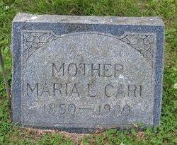 Maria Louisa <I>Roundy</I> Carl