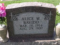 Alice Mary <I>Burd</I> Bavido