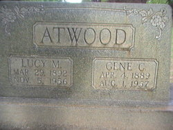 Lucy May <I>Church</I> Atwood