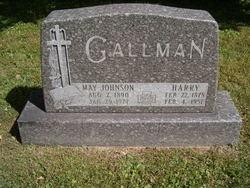 May <I>Johnson</I> Gallman