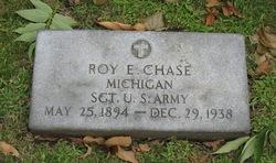 Sgt Roy Ernest Chase
