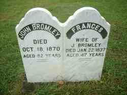 Frances <I>Holmes</I> Bromley