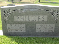 Mary Annis <I>Hall</I> Phillips