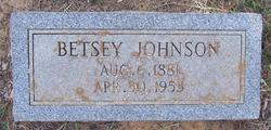 Betsey <I>Harrell</I> Johnson