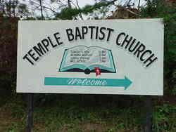 Temple Baptist Church Cemetery