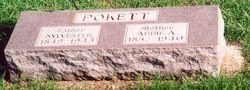 """Abigail Amelia """"Abbie"""" <I>Tucker</I> Pokett"""