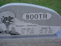 Thelma Faye <I>Shults</I> Booth