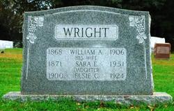William A Wright, I