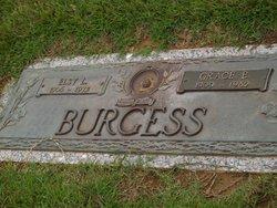 Rebecca Grace <I>Bagwell</I> Burgess