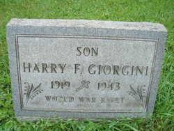PVT Harry F Giorgini