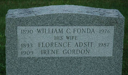 Florence L. <I>Adsit</I> Fonda