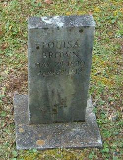 Louisa <I>McCoy</I> Brown