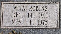 Alta <I>Robins</I> Blood