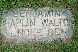 Benjamin Chaplin Walton, Sr