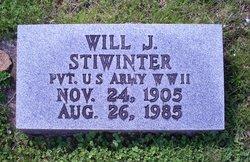 """Pvt William James """"Will"""" Stiwinter"""