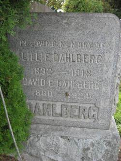Lillie <I>Anderson</I> Dahlberg