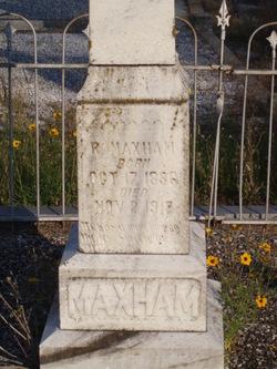 William Ransom Maxham