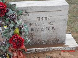 Marie <I>Daniels</I> Beevers