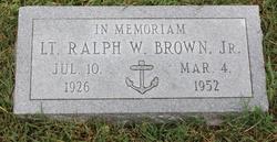 Ralph W Brown, Jr