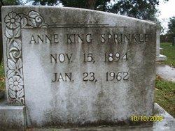 Anne <I>King</I> Sprinkle