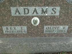 Rex Eugene Adams