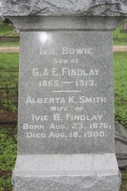 Alberta K. <I>Smith</I> Findlay