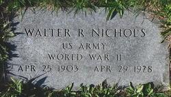 Walter R. Nichols