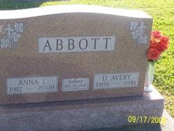 Anna Lillian <I>Thomas</I> Abbott