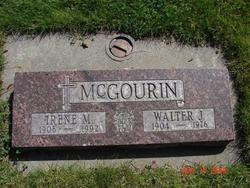 Walter J McGourin