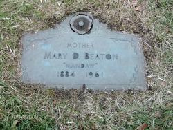 """Mary Dulcie """"Mandaw"""" <I>McKenzie</I> Beaton"""