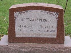 Geraldine <I>Thomas</I> Hettmansperger