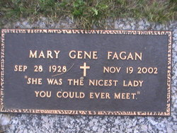 Mary Gene <I>Atwood</I> Fagan