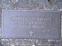 Johnny W Adams