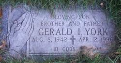 Gerald I. York