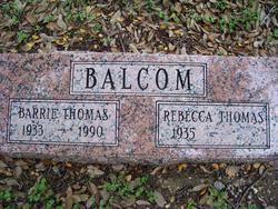 Barrie Thomas Balcom